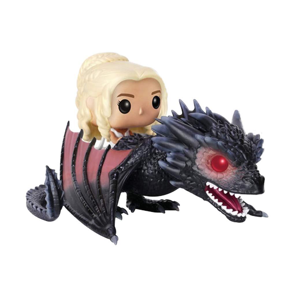 Figura de mother of the Dragons y dragon