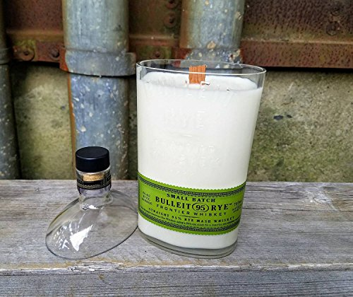 BULLEIT Whiskey Soy Candle I Recycled- coconut lime