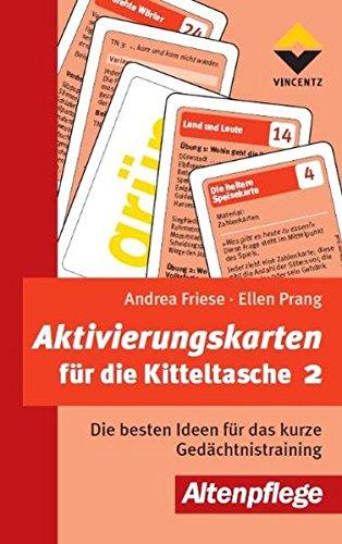 Aktivierungskarten für die Kitteltasche 2 (Altenpflege)
