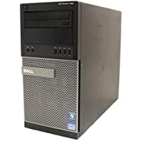 Dell Optiplex 790 MiniTower Business High Performance Desktop Computer PC (Intel Dual-Core i3-2100 3.1GHz Processor, 8GB RAM, 500GB HDD, DVD, Windows 7 Professional) (Certified Refurbished)
