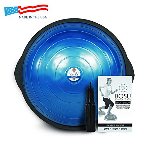 Bosu Sport Balance Trainer - Travel Size, Blue/Black