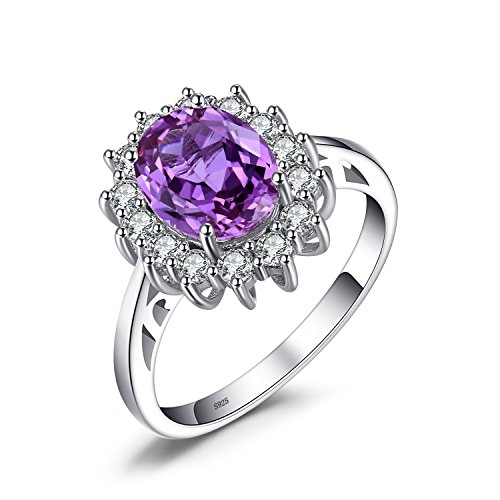 Jewelrypalace Solid Sterling Silver 2.1ct Created Alexandrite Sapphire Kate...