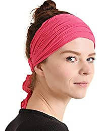 de4e2cd7d96 Womens Headband Boho Headwrap - Turban Head Wrap Festival Retro Hair  Accessory Pirate Hairband