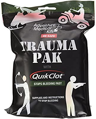 Adventure Medical Kits Professional Trauma Pak First Aid Kit with QuikClot by Adventure Medical Kits