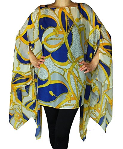 Womens Juniors Fashion Poncho Leopard product image
