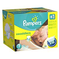 Pampers\x20Swaddlers\x20Diapers\x20Size\x201,\x20216\x20Count