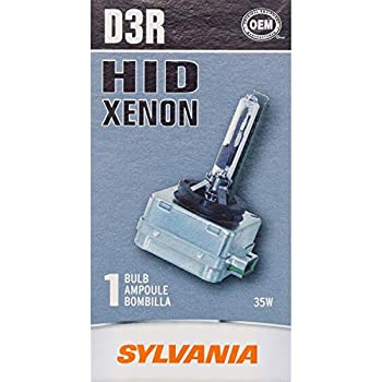 SYLVANIA D3R High Intensity Discharge (HID) Bulb, (Contains 1 Bulb)