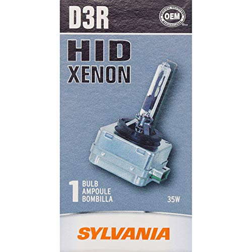 Intensity Conversion High Kit - SYLVANIA D3R High Intensity Discharge (HID) Bulb, (Contains 1 Bulb)
