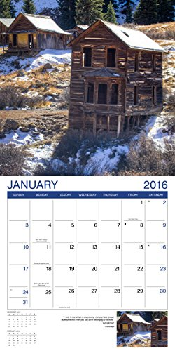 Abandoned Buildings 2016 Wall Calendar (8940001) Photo #2