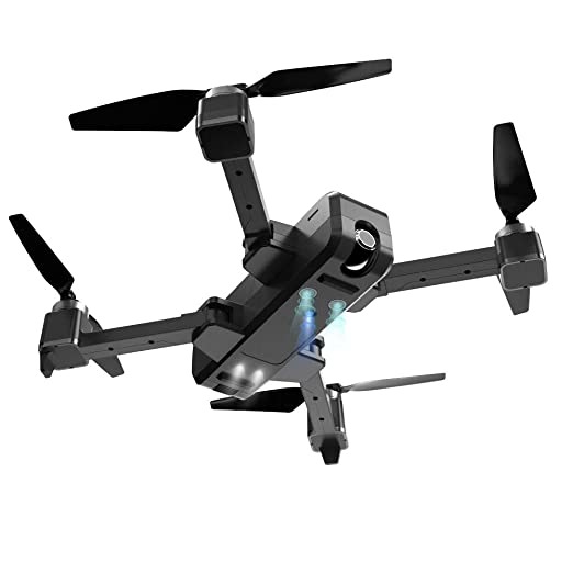 Drone Plegable GPS, La Cámara Adulto 2K FHD, Quadcopter con Motor ...