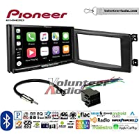 Volunteer Audio Pioneer AVH-W4400NEX Double Din Radio Install Kit with Wireless Apple CarPlay, Android Auto, Bluetooth Fits 2008-2010 Smart Fortwo