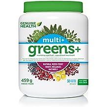 Genuine Health Greens+ Multi+, Natural Mixed Fruit, 507 g