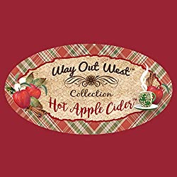 Scented Candles (2-PACK) with Hot Apple Cider and