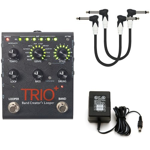 Digitech TRIOPLUS Band Creator and Looper bundle