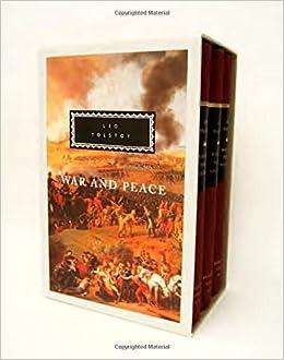 Amazon Com War And Peace 3 Volume Set 9780679405733