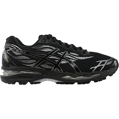Running Black ASICS Men's Black Shoe Silver GelZiruss wTx4S