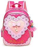 Best Barbie Book Bags - Waterproof PU Leather Kids Princess Backpack Cute School Review
