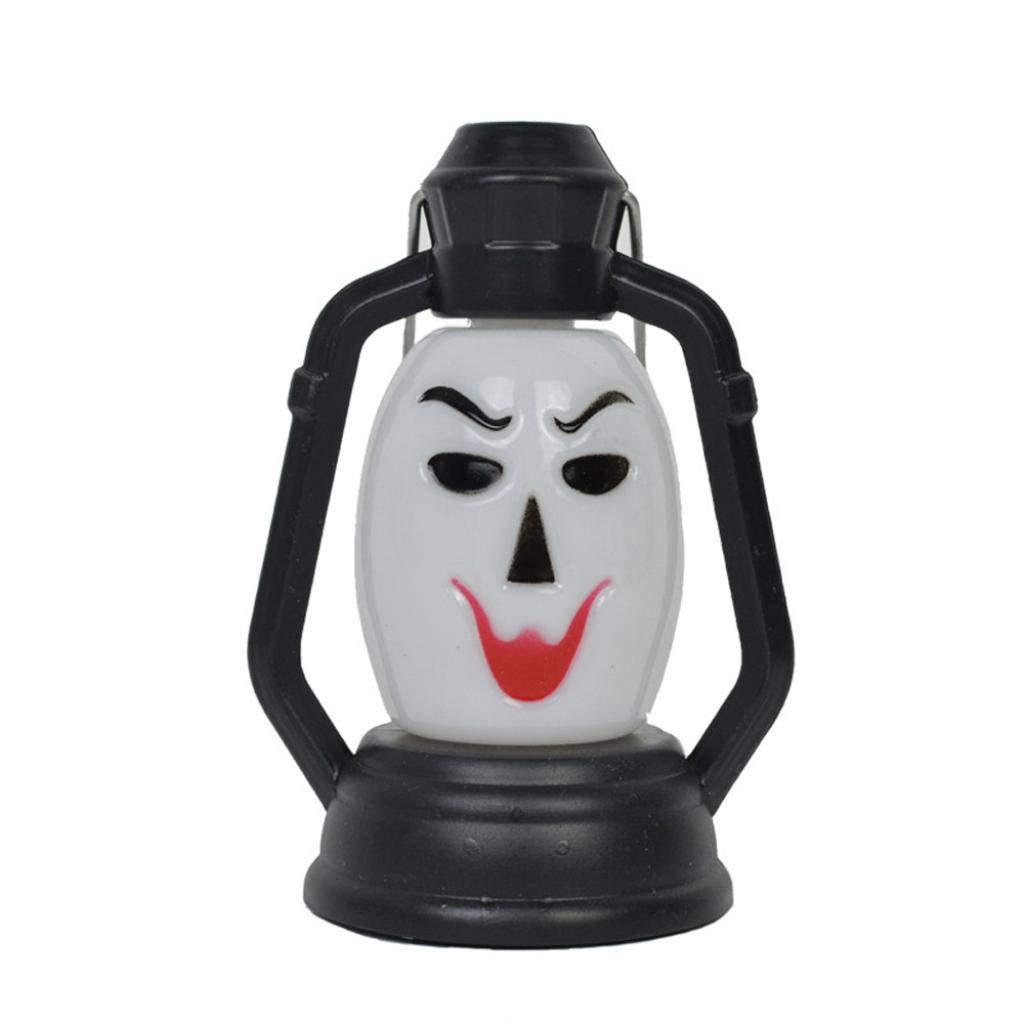 Halloween Light Skull,Lovewe Fashion Halloween Night Light Indoor/Outdoor Party Decor Toy Kids Gift Halloween Decoration (D)