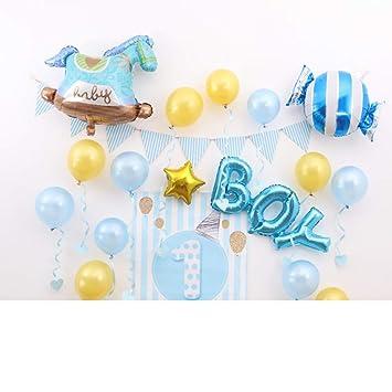 Amazon.com: GE&YOBBY Globos de aluminio para cumpleaños ...