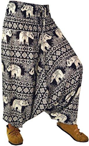 Guru-Shop -  Pantaloni  - Donna nero W38