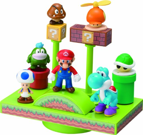 NEW Super Mario Bros. Wii Balance the Ground Stage World