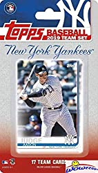 Wowzzer! We are Proud to offer this New York Yankees 2019 Topps MLB Baseball Factory Sealed EXCLUSIVE Special Limited Edition 17 Card Complete Team Set! This Factory Sealed Team Set Includes Aaron Judge, Giancarlo Stanton, Gleyber, Torres, Luis sever...