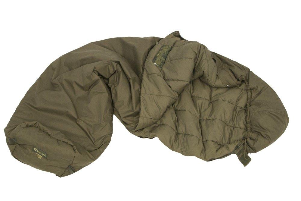 (カリンシア) Carinthia Tropen 200 L w ネット付き寝袋 左側ジッパー オリーブ B00IKI5VIU