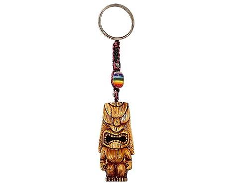 Amazon.com: Lono Totem Máscara de Tiki de polinesio pintada ...