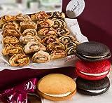 lemon pie gift basket - Dulcet Gift Basket Old Fashioned Bakery Pastry Gift Box: Chocolate Whoopie Pie, Red Velvet Whoopie Pie Rugelah! Top Gift!
