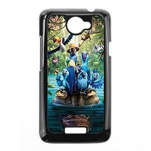 Rio HILDA0013073 Phone Back Case Customized Art Print Design Hard Shell Protection HTC One X