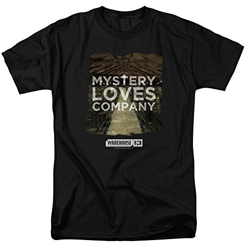 Warehouse 13 Science Fiction Fantasy TV Series Mystery Loves Adult T-Shirt Tee