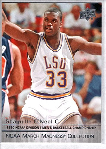 Basketball NBA 2014-15 Upper Deck NCAA March Madness #SO-1 Shaquille O`Neal NM-MT (Basketball Ncaa Card)