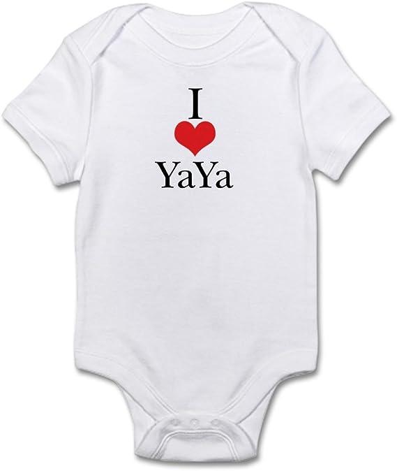 519369489 CafePress My Yaya Loves Me Long Sleeve Infant T Shirt Baby Bodysuit