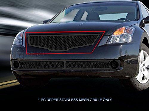 (Fedar Main Upper Dual Weave Mesh Grille for 2007-2009 Nissan Altima Sedan)