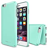 iPhone 6 Case - Ringke SLIM ***Top and Bottom Coverage*** [All Around Protection][MINT] Advanced Dual Coating Technology All Around Protection Hard Case for Apple iPhone 6 4.7 Inch - Eco Package