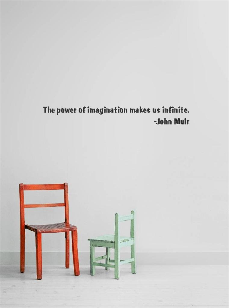 Decal Vinyl Wall Sticker The Power Of Imagination Makes Us