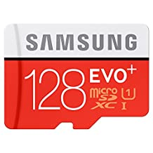 Samsung MB-MC128DA/AM MicroSXCD 128GB EVO+ Memory Card with Adapter