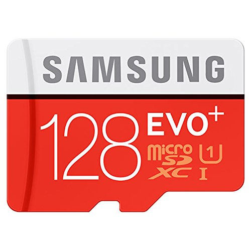 Samsung Micro SD EVO+ 128GB Memory Card with Adapter