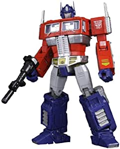 Transformers Masterpiece MP-10 Convoy (Optimus Prime) w/ Trailer and Pilot [Toy] (japan import)
