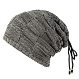 ❤️Tayaudy Unisex Hat with Knit Beanie Hats with Warm Fleece Lined Hat Women Hats Baseball Caps