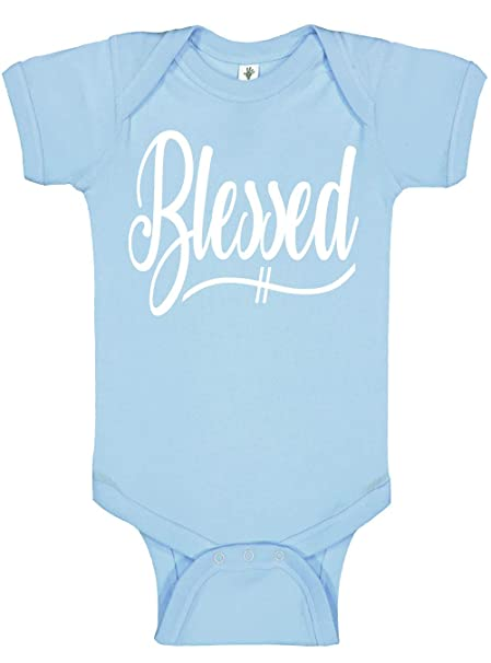 Amazon.com: Aiden esquina – Blessed overol – Baby Boy & Girl ...