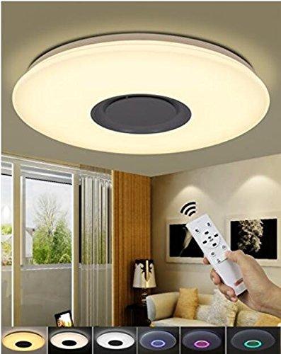 Aplicación móvil remoto moderno redondo lámpara pared ...