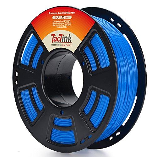 Blue 3D Filament PLA - 1.75 1KG 3D Printer Filament, Dimensional Accuracy of +/- 0.05mm ()
