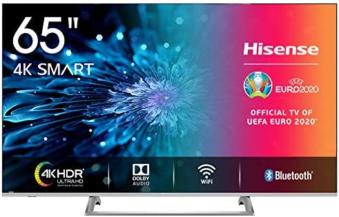 Hisense H65BE7400 Smart TV 65 4K Ultra HD, 3 HDMI, 2 USB, Salida Óptica, WiFi, Bluetooth,