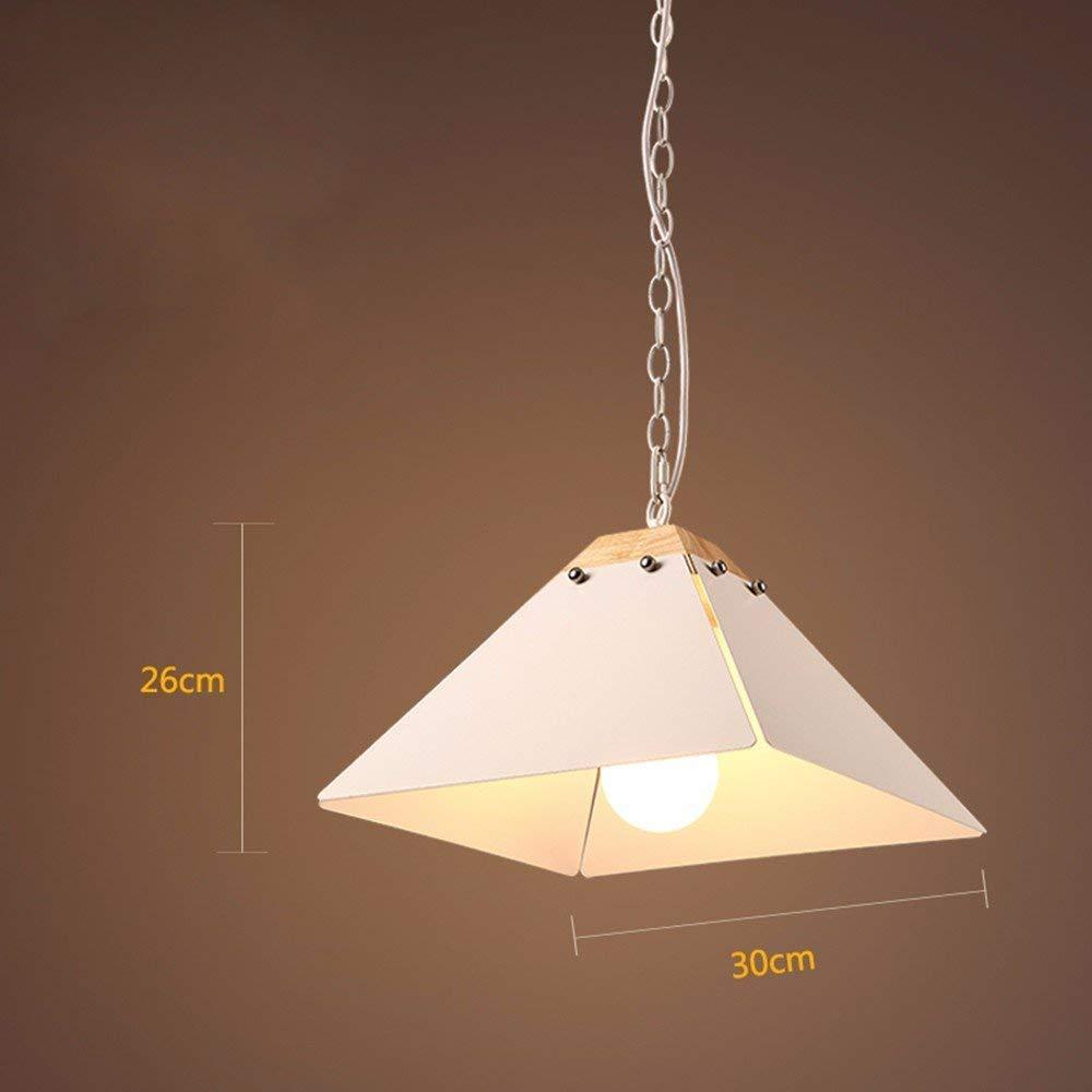 GUO Gzz Deng Home Outdoor Lighting Pendant Light Shade Industrial Hanging Ceiling Lamp Chandelier 30X26Cm Living Room Restaurant Bedroom Lighting