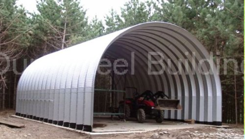 Duro Span Steel S20x20x12 Metal Building Kit Factory Direct New DIY Carport Shed from Duro