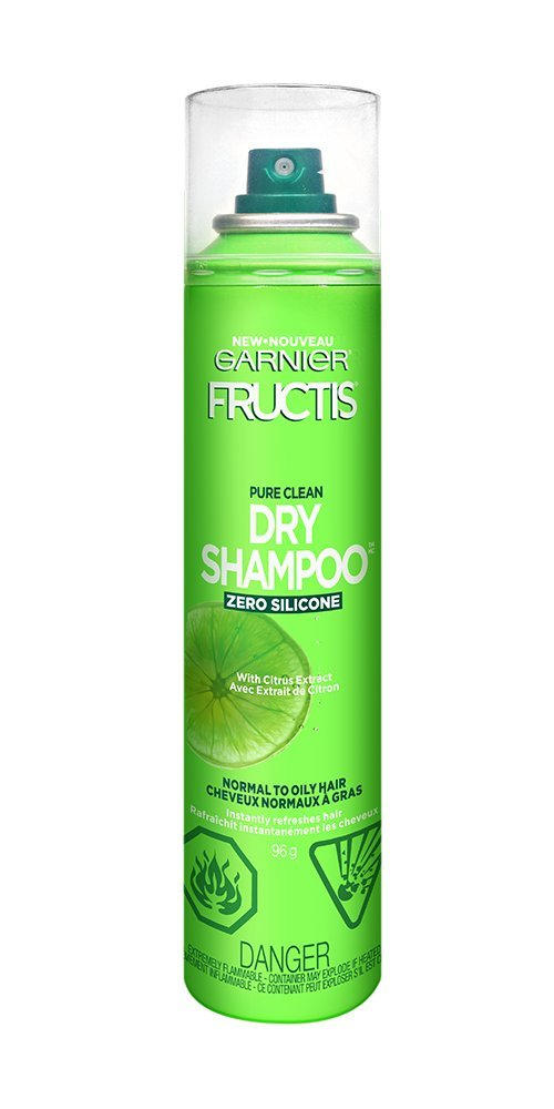 Garnier Fructis Pure Clean Dry Shampoo With Citrus Extract For Normal And Oily Hair 96 Gr