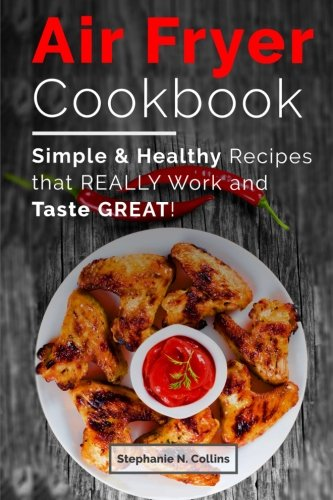 Air fryer cookbook healthy recipes product image