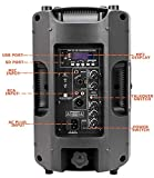 Active PA Speaker System, 8 inch Compact and