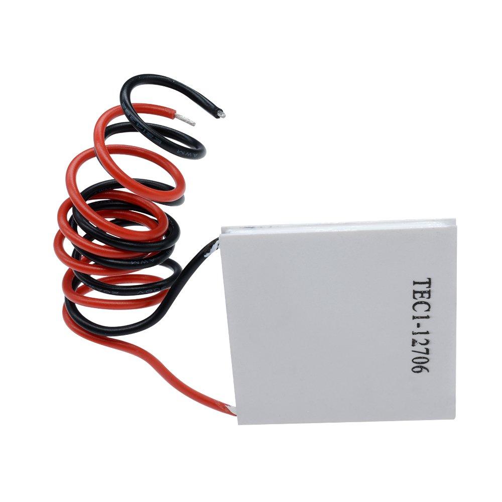 1 Diymore TEC1-12706/Radiateur refroidisseur thermo/électrique de refroidissement Peltier plaque module 12/V 6/A 60/W 5Pcs
